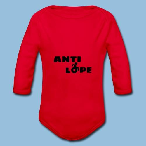 Antilope 004 - Baby bio-rompertje met lange mouwen