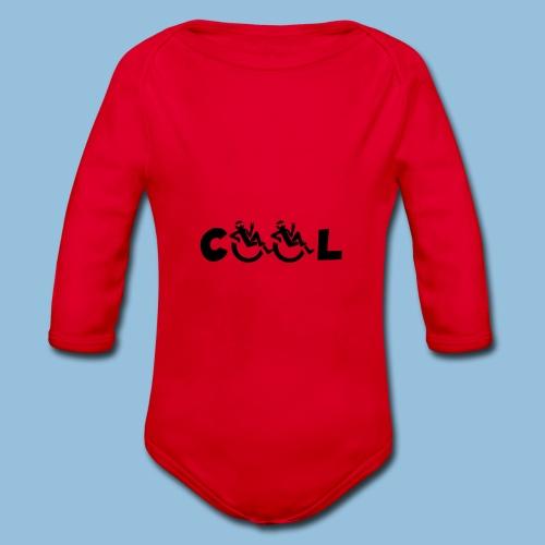 COOL 002 - Baby bio-rompertje met lange mouwen