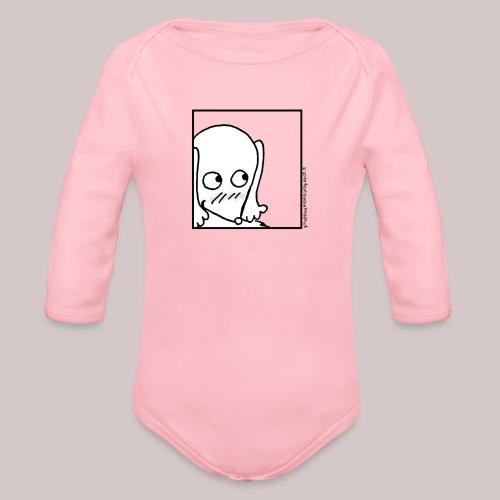 Timida - Body ecologico per neonato a manica lunga
