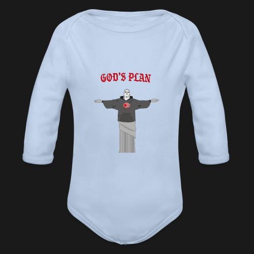 God's Plan - Body Bébé bio manches longues