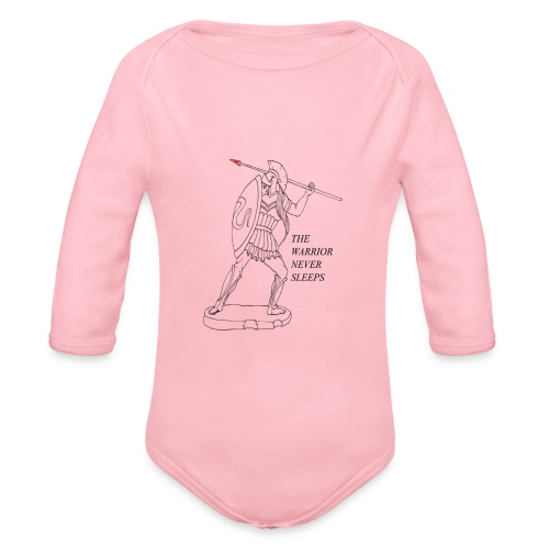 WARRIOR - Body ecologico per neonato a manica lunga