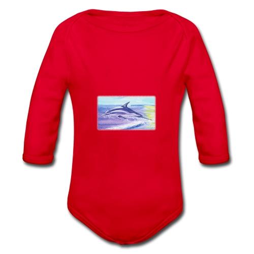 Engel der Meere - Baby Bio-Langarm-Body