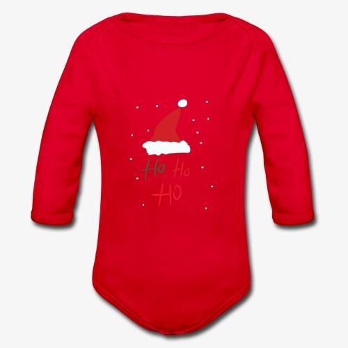 hohoho - Organic Longsleeve Baby Bodysuit
