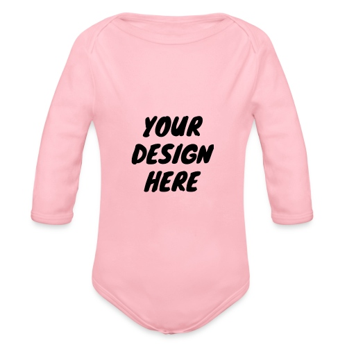 print file front 9 - Organic Longsleeve Baby Bodysuit