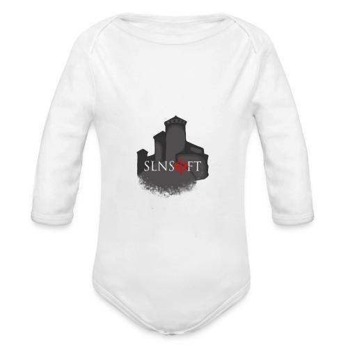 slnsoft - Vauvan pitkähihainen luomu-body