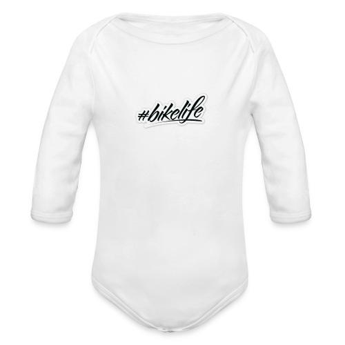 #BIKELIFE - Organic Longsleeve Baby Bodysuit