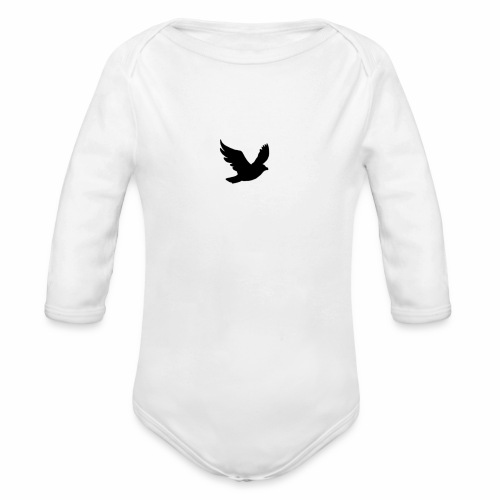 THE BIRD - Organic Longsleeve Baby Bodysuit