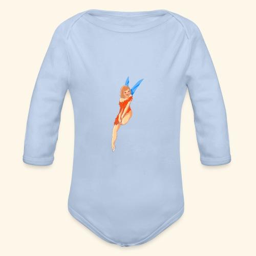 Fairy - Body ecologico per neonato a manica lunga