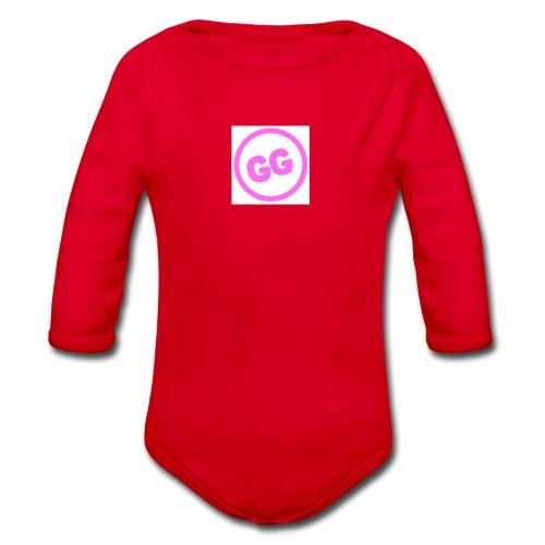 GirlyGamer - Organic Longsleeve Baby Bodysuit