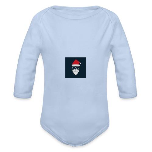 Trap Navideño - Body orgánico de manga larga para bebé