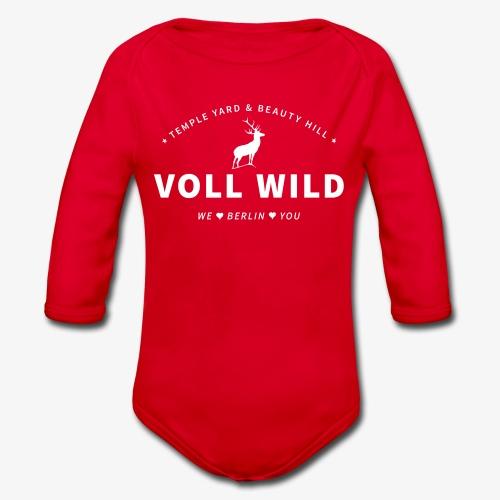 Voll wild // Temple Yard & Beauty Hill - Baby Bio-Langarm-Body