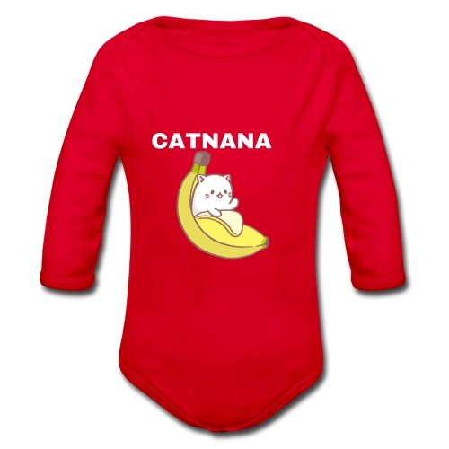 Catnana - Organic Longsleeve Baby Bodysuit
