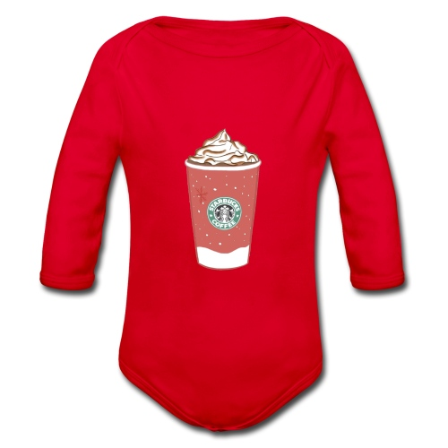 coffee - Organic Longsleeve Baby Bodysuit