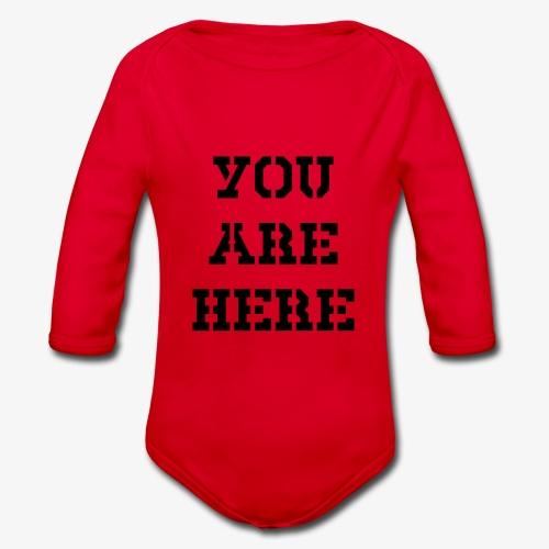 You are here - Baby Bio-Langarm-Body