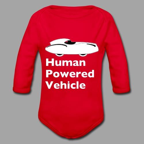 Quattrovelo Human Powered Vehicle white - Vauvan pitkähihainen luomu-body