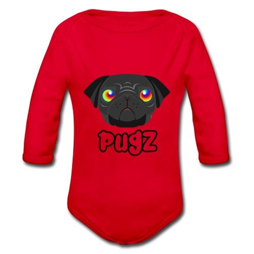 PugZ - Ekologisk långärmad babybody