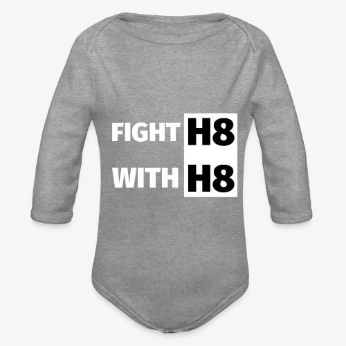 FIGHTH8 bright - Organic Longsleeve Baby Bodysuit