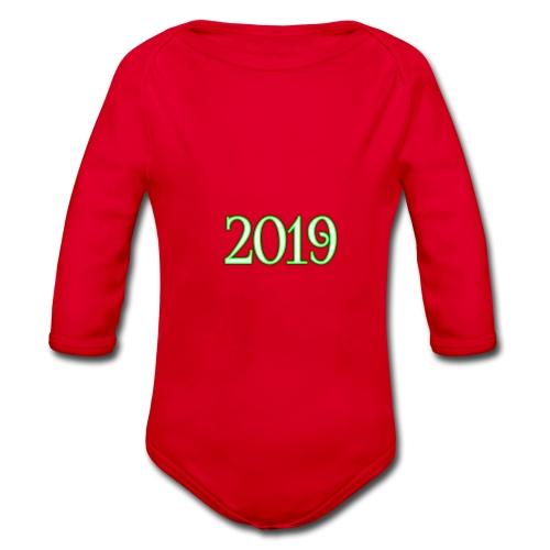2019 - Organic Longsleeve Baby Bodysuit