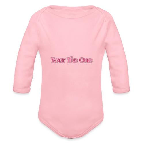 Your The One - Organic Longsleeve Baby Bodysuit