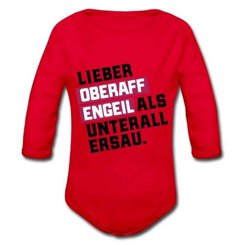 Ober-AFFEN-GEIL - Baby Bio-Langarm-Body