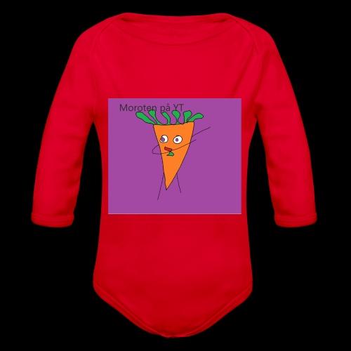 Yt logo - Ekologisk långärmad babybody