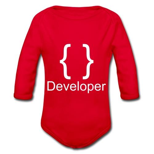 Developer - Baby Bio-Langarm-Body