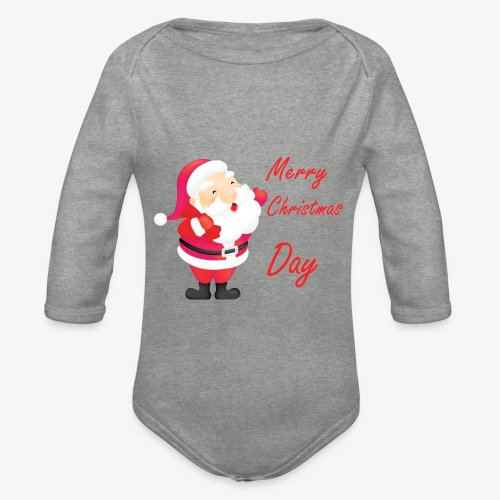 Merry Christmas Day Collections - Body Bébé bio manches longues