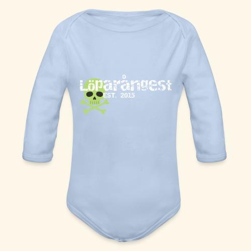 loeparangest - Ekologisk långärmad babybody