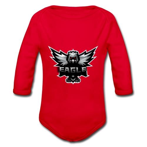 Eagle merch - Langærmet babybody, økologisk bomuld
