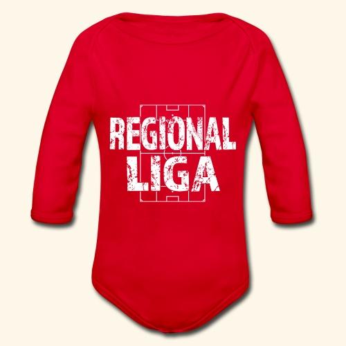 REGIONALLIGA im Fußballfeld - Baby Bio-Langarm-Body