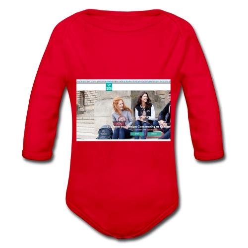 user2 - Organic Longsleeve Baby Bodysuit