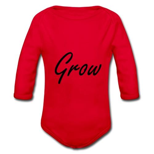 Grow - Baby Bio-Langarm-Body