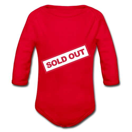 sold out - Baby Bio-Langarm-Body