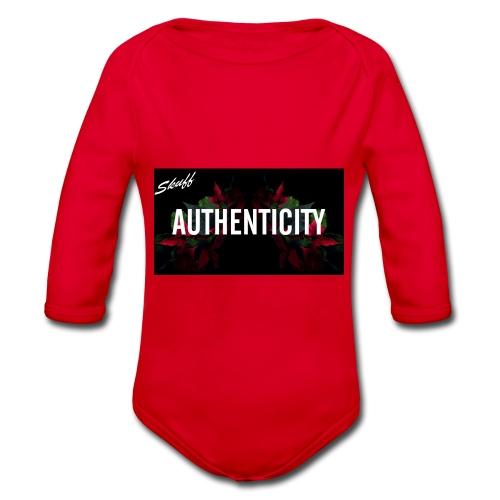 Authenticity - Body Bébé bio manches longues