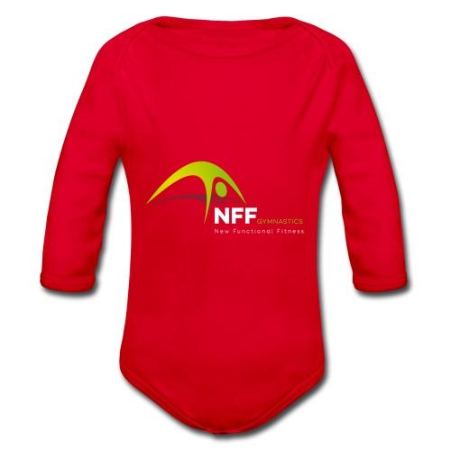 NFF Gymnastics - Baby Bio-Langarm-Body