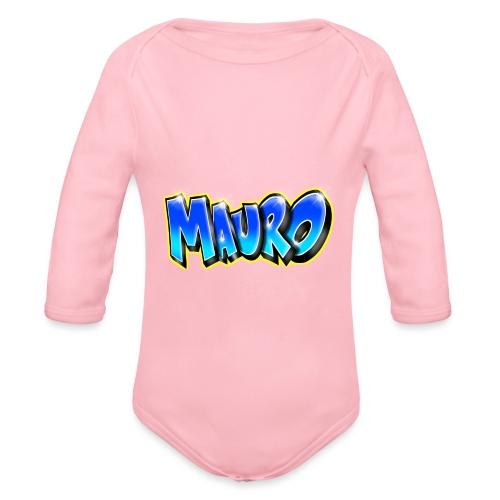 MAURO GRAFFITI NAME - Body Bébé bio manches longues