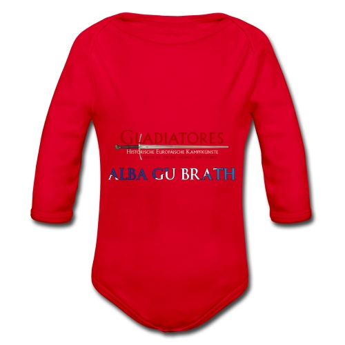 ALBAGUBRATH - Baby Bio-Langarm-Body
