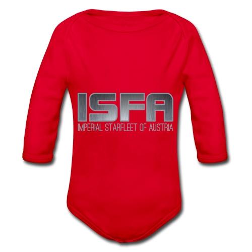 ISFA Logo Abzeichen3 - Baby Bio-Langarm-Body