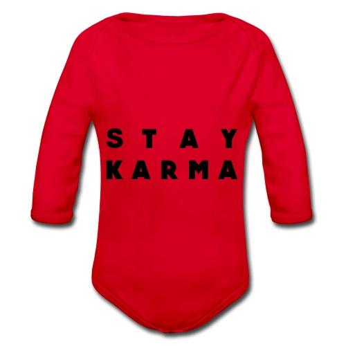 Stay Karma - Body ecologico per neonato a manica lunga