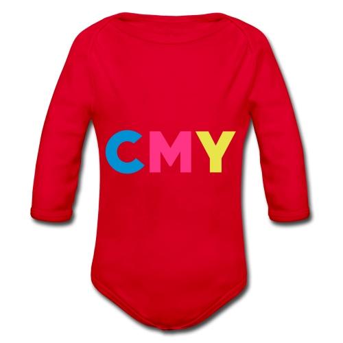 CMYK - Baby bio-rompertje met lange mouwen