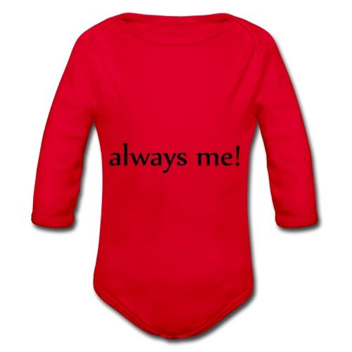 Always me! - Baby Bio-Langarm-Body