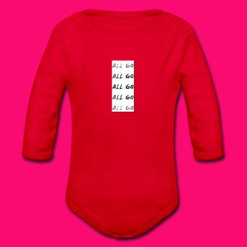GQ ALL SPORTS - Organic Longsleeve Baby Bodysuit