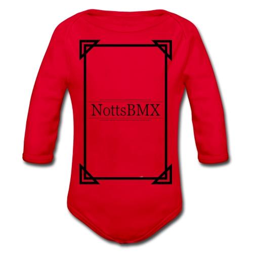 SQUAREFRAME - Organic Longsleeve Baby Bodysuit