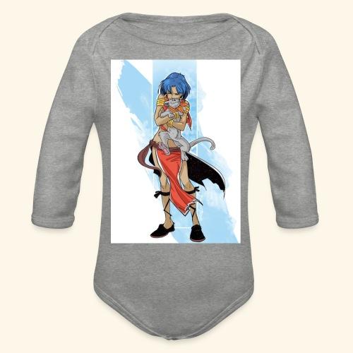 Nadia: The Secret of Blue Water - Organic Longsleeve Baby Bodysuit