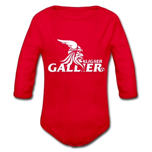 Transfer Gallier schwarz - Baby Bio-Langarm-Body