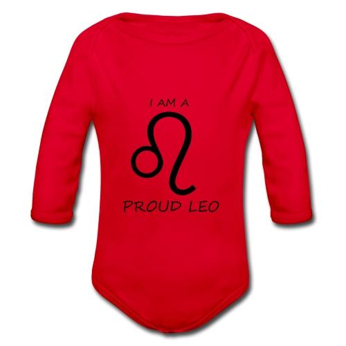 LEO - Organic Longsleeve Baby Bodysuit