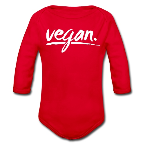 vegan - simply vegan ! - Baby Bio-Langarm-Body