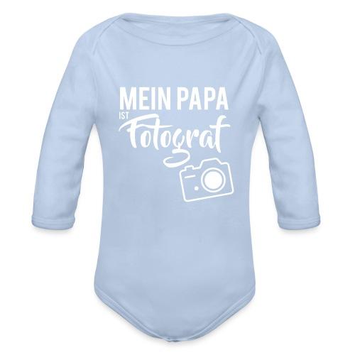 Papa - Baby Bio-Langarm-Body