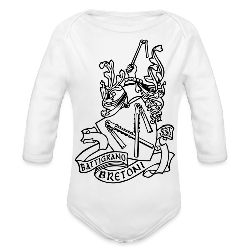 BATTIGRANO - Body ecologico per neonato a manica lunga