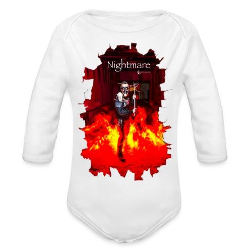 Nightmare - Body orgánico de manga larga para bebé